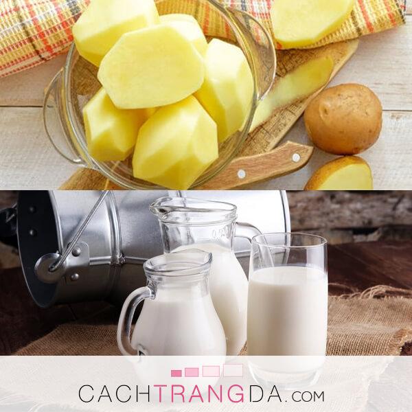 5 Cách làm trắng da mặt với khoai tây siêu hiệu quả, lên tông nhanh chóng