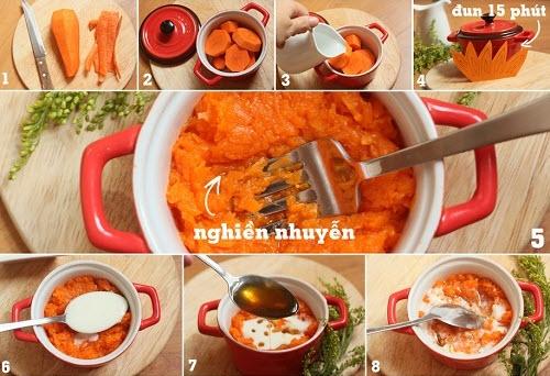 Cà rốt, mật ong, sữa chua – Cách làm kem trắng an toàn hiệu quả siêu dễ và siêu tiết kiệm