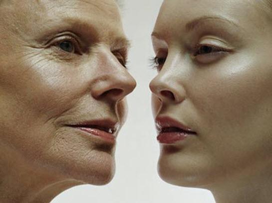 Quá trình lão hóa làm chị em trông già đi nhiều so với tuổi thật của mình