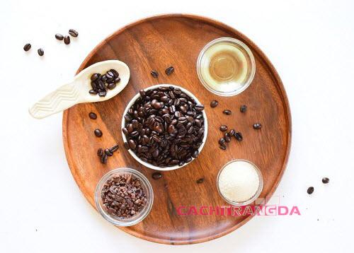 cách tẩy tế bào chết tự nhiên bằng Cà phê và Ca cao
