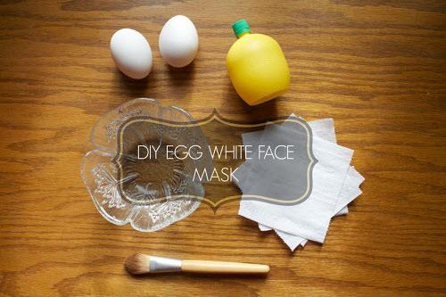 Cách làm trắng da mặt bằng Lòng trắng trứng gà