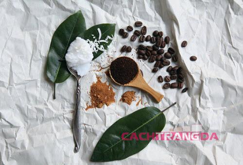 Cách làm kem làm trắng da toàn thân từ cà phê