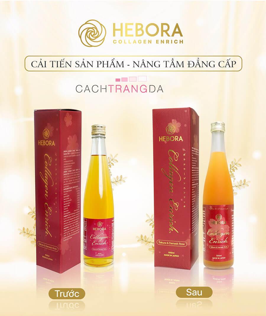 vì sao nên chọn nước uống collagen Hebora-cachtrangda.com