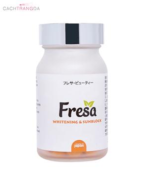 Viên uống trắng da chống nắng Fresa 2020