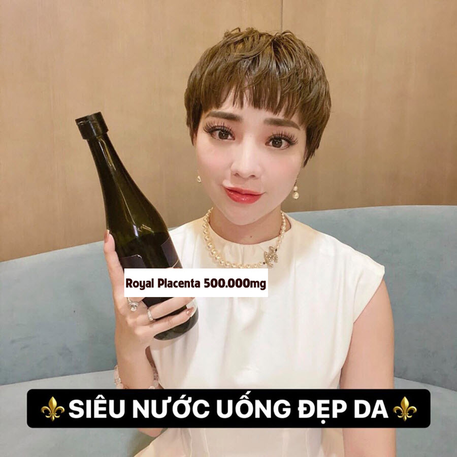 Review Nước uống Royal Placenta 500.000