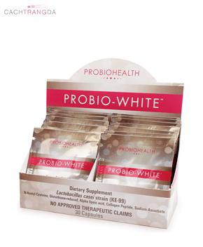 Viên uống trắng da Probio White