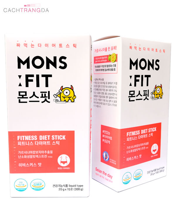 Giảm cân Monsfit Fitness Diet Stick