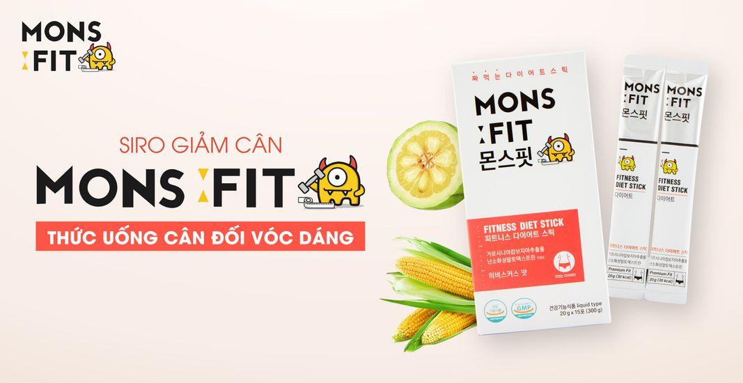 Siro giảm cân Monsfit Fitness Diet Stick