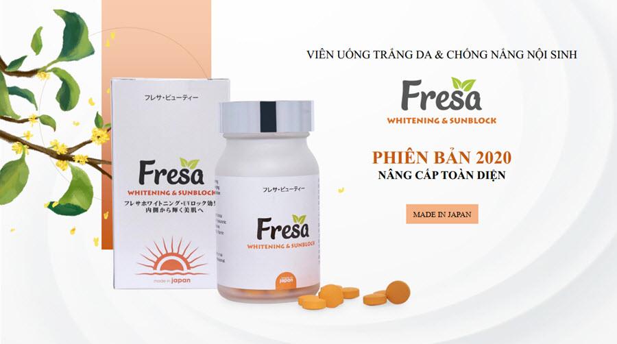 Những câu hỏi thường gặp về viên uống Fresa 2020