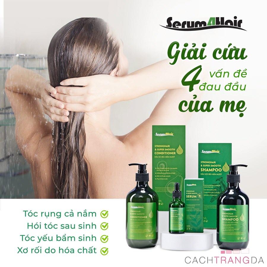Bộ sản phẩm chăm sóc tóc Serum4Hair