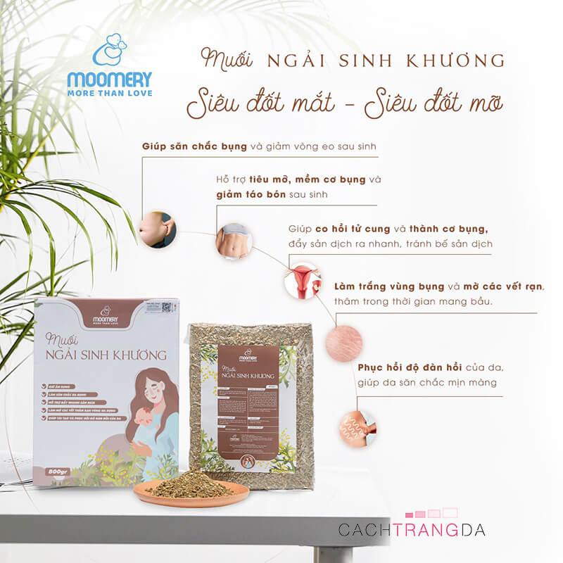 Công dụng Muối ngải sinh khương-cachtrangda.com
