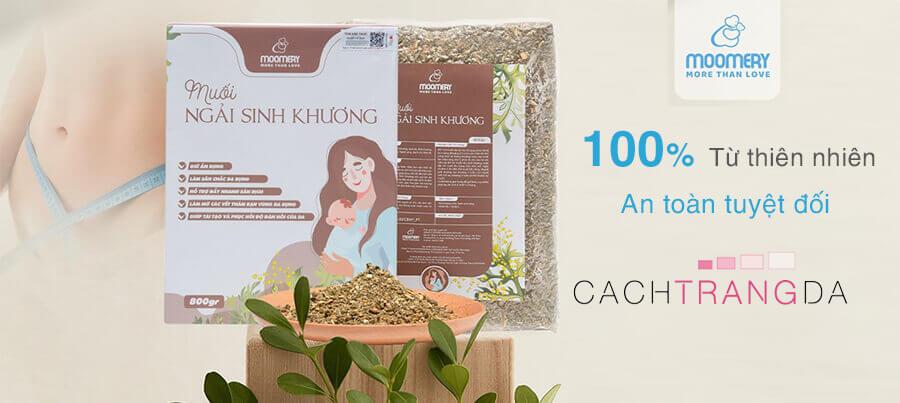 Thành phần muối ngải sinh khương-cachtrangda.com