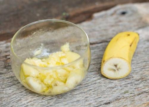 Cách dưỡng trắng da nhanh và an toàn với mặt nạ chuối