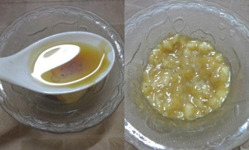 Cách dưỡng da trắng nhanh và an toàn với Chuối + lòng trắng trứng + dầu oliu