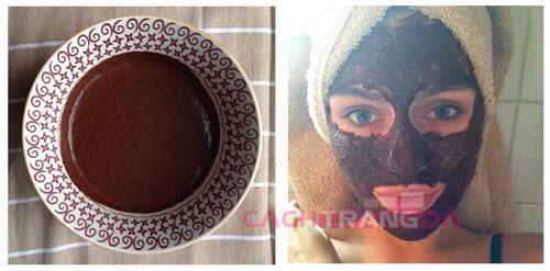 Cách dưỡng trắng da tại nhà bằng Mặt nạ cà phê