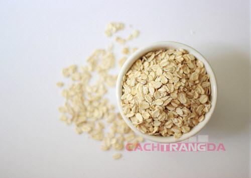 Hướng dẫn cách làm kem dưỡng trắng da tự nhiên từ Yến Mạch