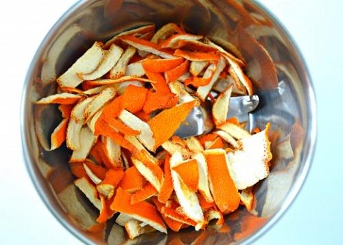 Hướng dẫn tự làm Bột vỏ cam để trắng da
