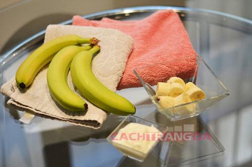 Cách làm trắng da nhanh nhất tại nhà từ Chuối và sữa chua