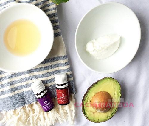 Cách làm trắng da tự nhiên với Mặt nạ bơ và sữa chua