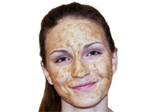 Cách tẩy tế bào chết an toàn cho da mặt bằng Đường Nâu